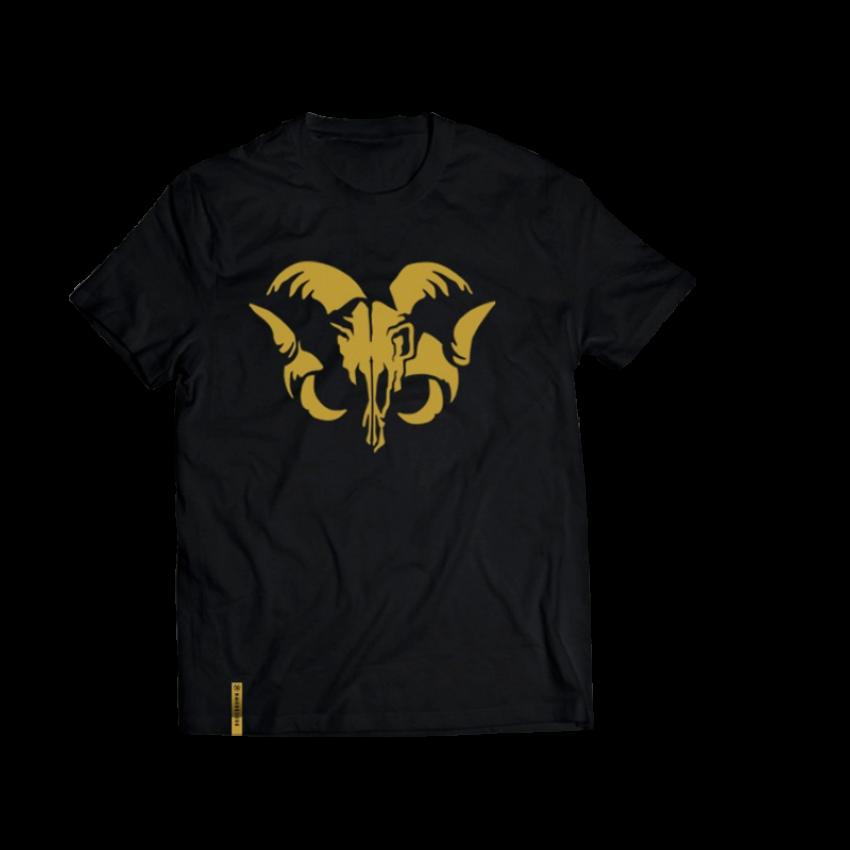 Camiseta Bode Dourado