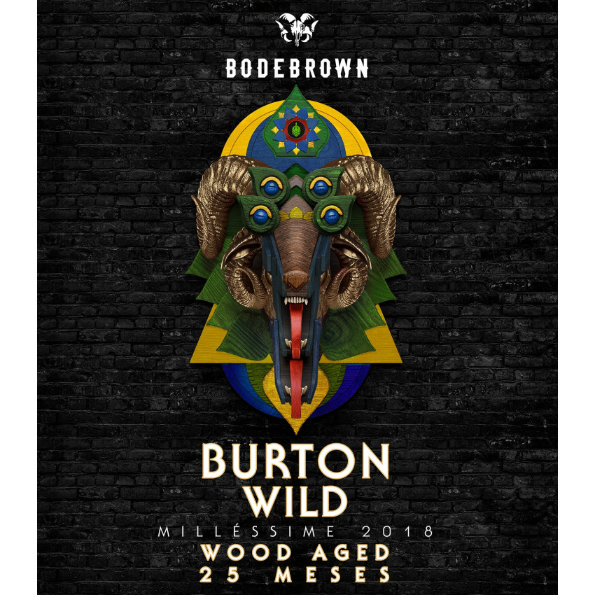 Growler Delivery 1L Growler Delivery 1L Burton Wild Millésime 2018 - Wood Aged 25 meses