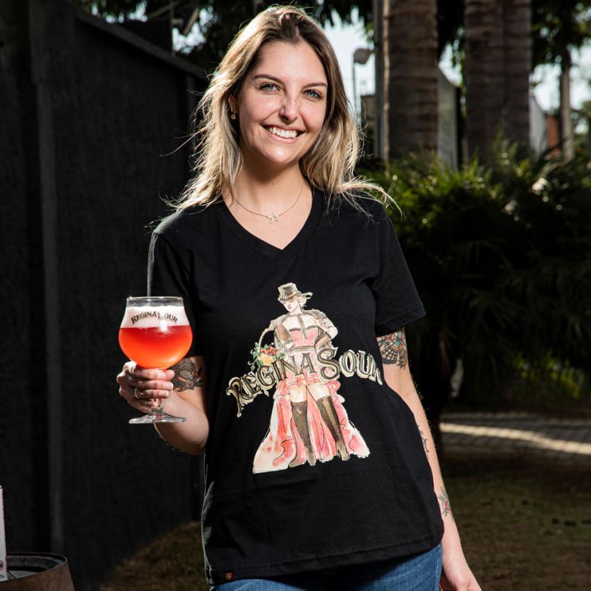 Camiseta Regina Sour - Feminina Preta