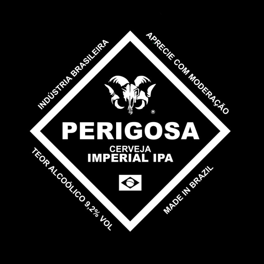 Growler 2L Perigosa Imperial IPA