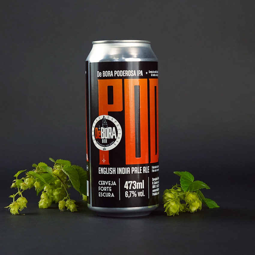 Poderosa English IPA - Lata 473ml