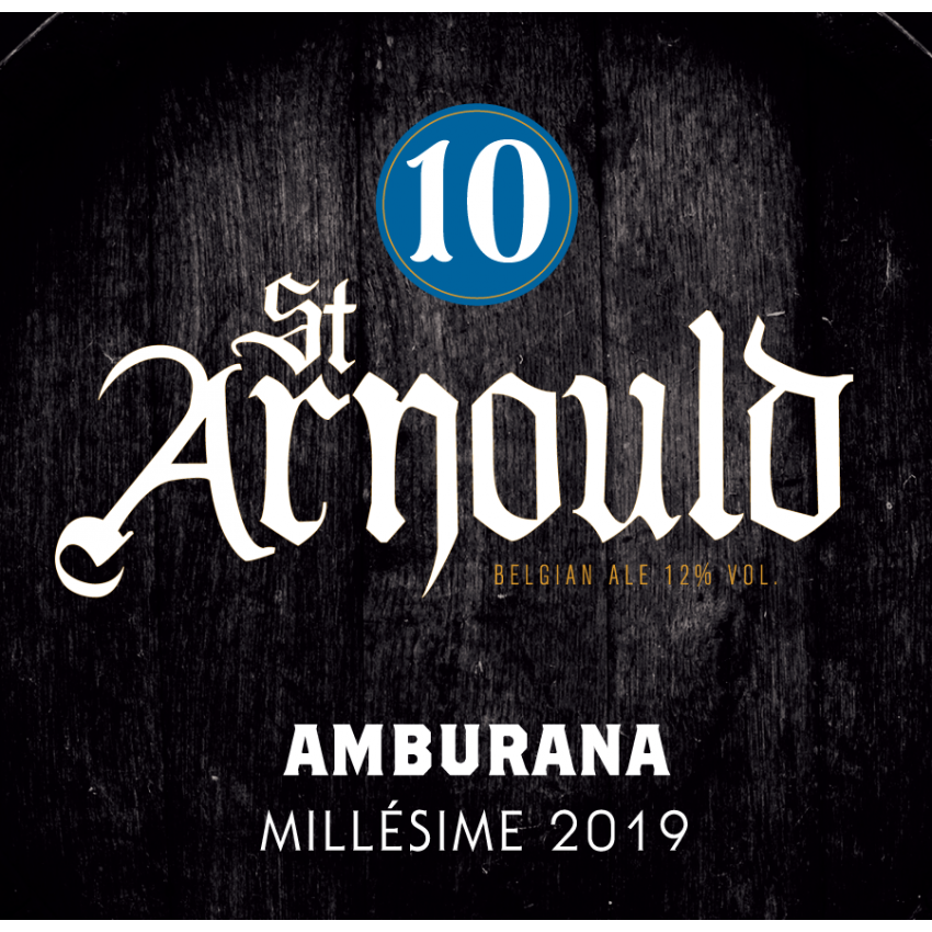 Growler 1L St. Arnould 10 Amburana Wood Aged 2019