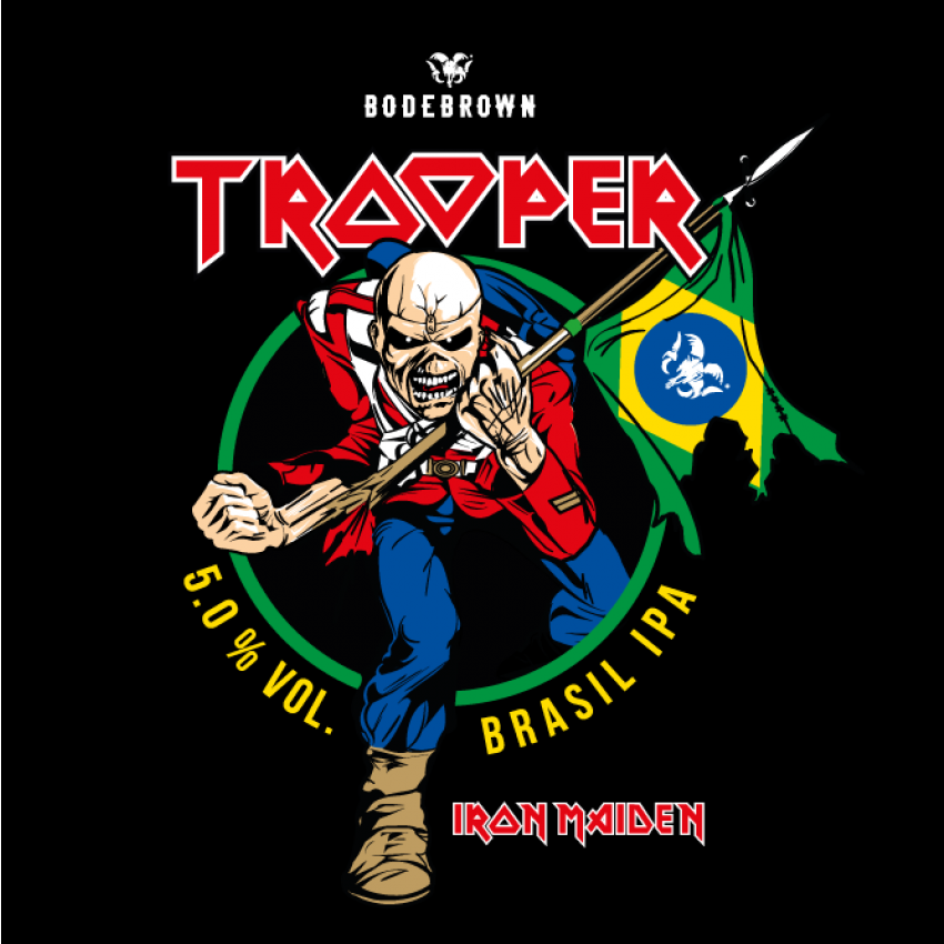 Growler 2L Trooper Brasil IPA