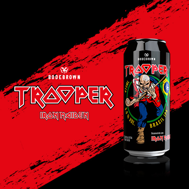 Trooper - Bodebrown e Iron Maiden